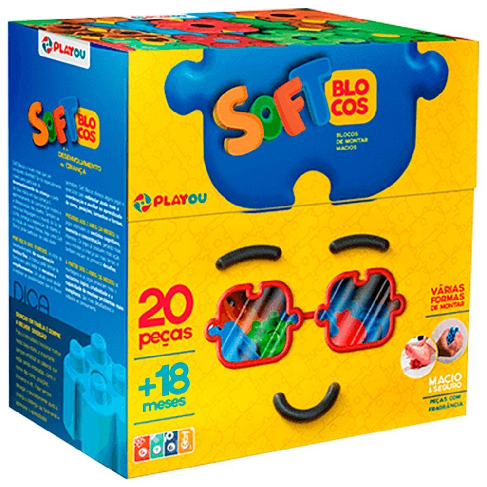 PA1001-0914-A-Blocos-de-Montar-Soft-Blocos-20-pecas-18m---Playou