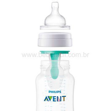 SCF813-14-F-Mamadeira-Anticolica-com-Acessorio-Airfree-260ml-0m---Philips-Avent