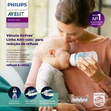 SCF813-14-K-Mamadeira-Anticolica-com-Acessorio-Airfree-260ml-0m---Philips-Avent