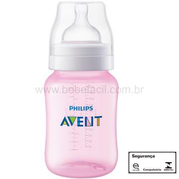 SCF814-17-H-Mamadeira-Anticolica-Rosa-260ml--1m-----Philips-Avent