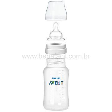 SCF818-17-C-Mamadeira-Anticolica-Azul-330ml-3m---Philips-Avent