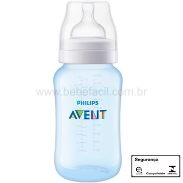 SCF818-17-G-Mamadeira-Anticolica-Azul-330ml-3m---Philips-Avent