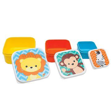 BUBA11383-D-Kit-3-Porta-Papinha-para-bebe-Animal-Fun-6m---Buba