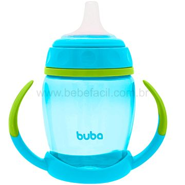 BUBA12636-B-Copo-com-Alca-Removivel-250ml-Azul-6m---Buba