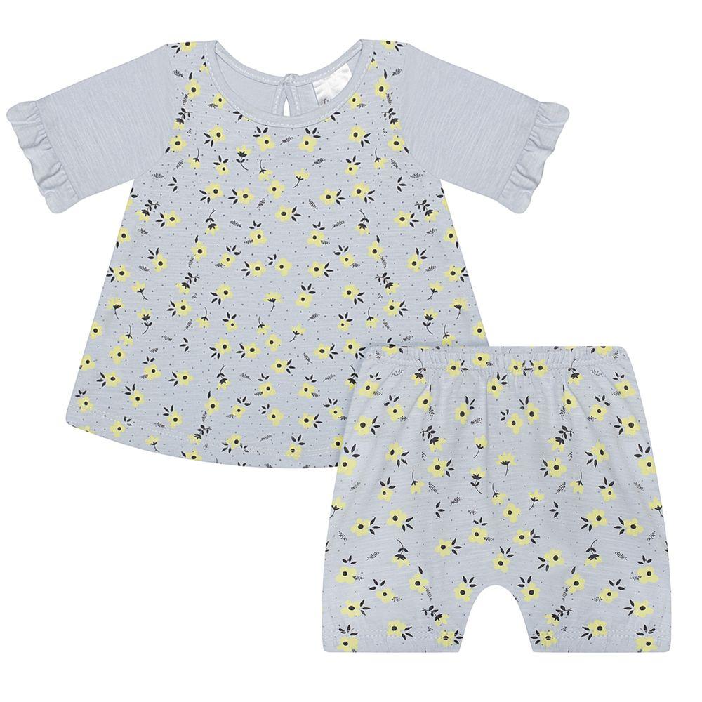 JUN51038-AZ-A-moda-bebe-menina-conjunto-bata-com-short-em-malha-flame-florzinhas-azul-junkes-baby-no-bebefacil