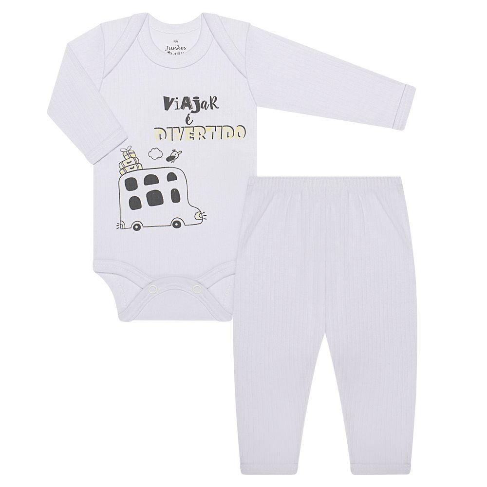 JUN31101-A-moda-bebe-menina-menino-conjunto-body-longo-calca-em-malha-canelada-viajar-e-divertido-junkes-baby-no-bebefacil