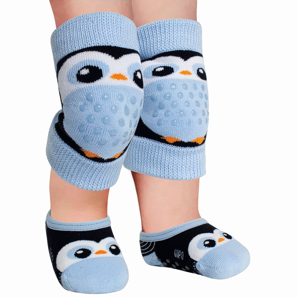 LU10015-009.2080-A-moda-bebe-menino-kit-joelheira-meia-sapatilha-pinguim-azul-lupo-no-bebefacil-loja-de-roupas-enxoval-e-acessorios-para-bebes