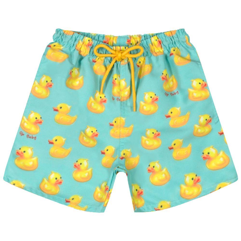 42859-SUB837-A-moda-praia-bebe-menino-bermuda-em-tactel-patinho-up-baby-no-bebefacil-loja-de-roupas-para-bebes
