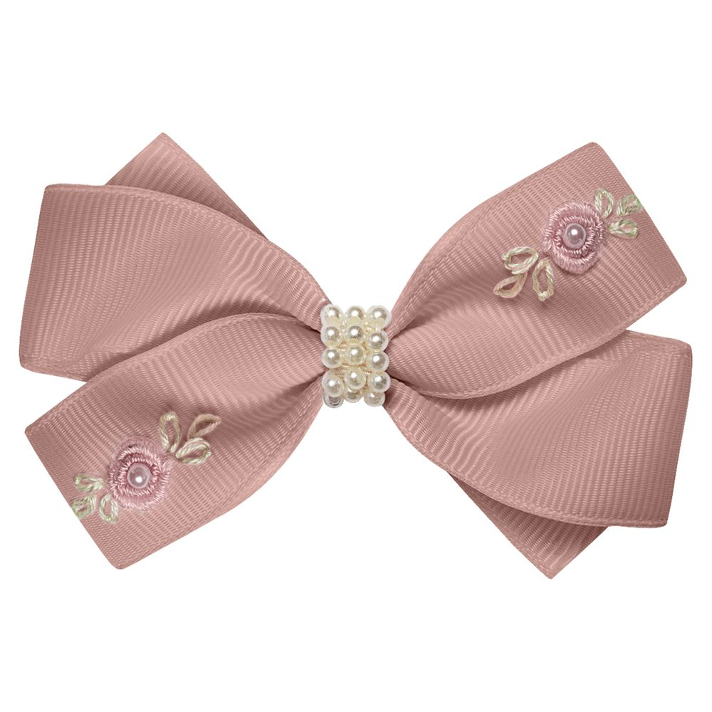 01229005032-A-moda-bebe-menina-acessorios-presilha--laco-perolas-e-mini-flores-rose-roana-no-bebefacil