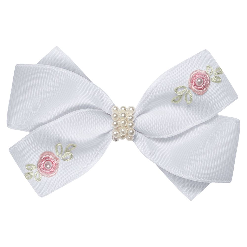 01229005001-A-moda-bebe-menina-acessorios-presilha--laco-perolas-e-mini-flores-branca-roana-no-bebefacil