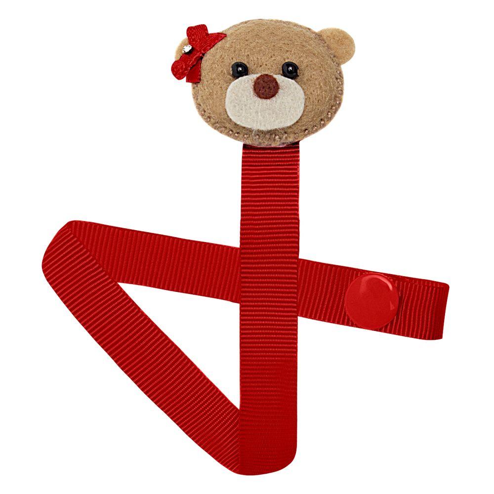 01119003007-A-acessorios-bebe-menina-prendedor-de-chupeta-ursinha-vermelha-roana-no-bebefacil-loja-de-roupas-enxoval-e-acessorios-para-bebes