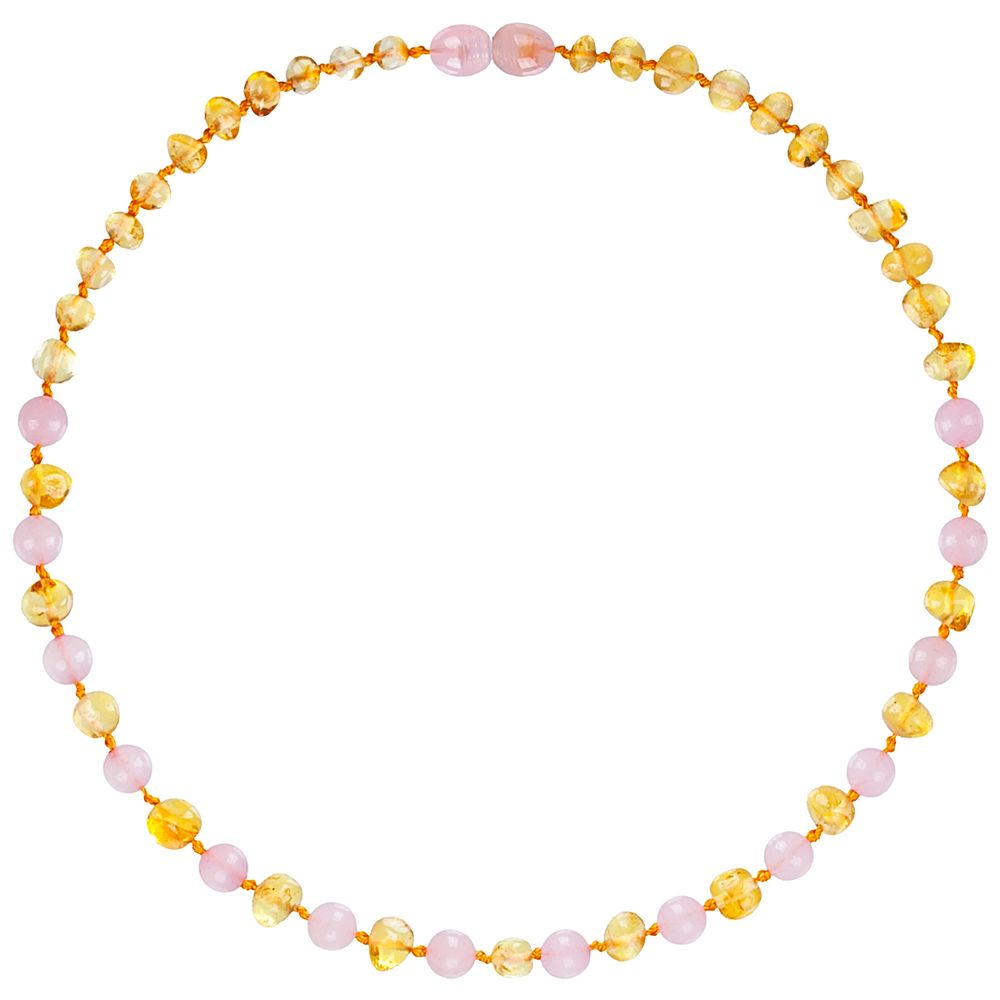 2827-A-Colar-de-Ambar-Baltico-para-bebe-Baroque-Lemon-Quartzo-Rose-32cm-Certificado---Bup-Baby