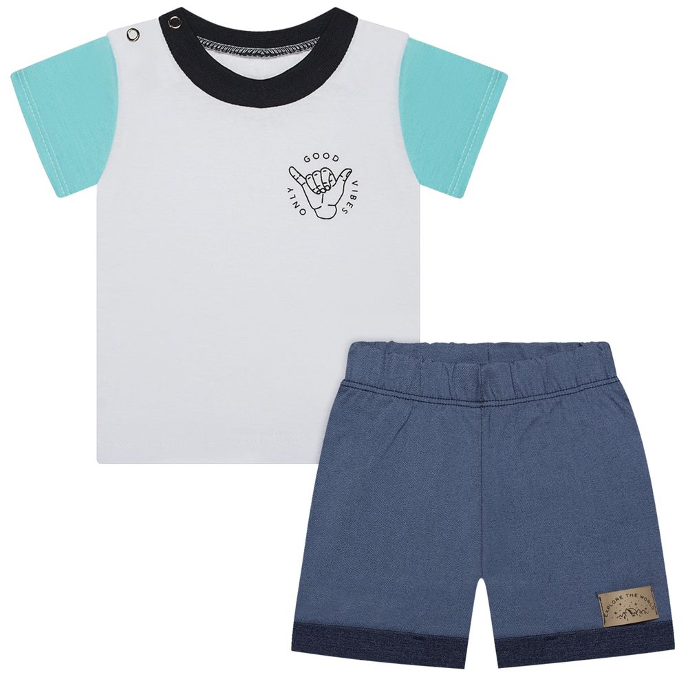 BBG7103V_6504V-A-moda-bebe-menino-camiseta-com-bermuda-jeans-good-vibes-only-baby-gut-no-bebefacil
