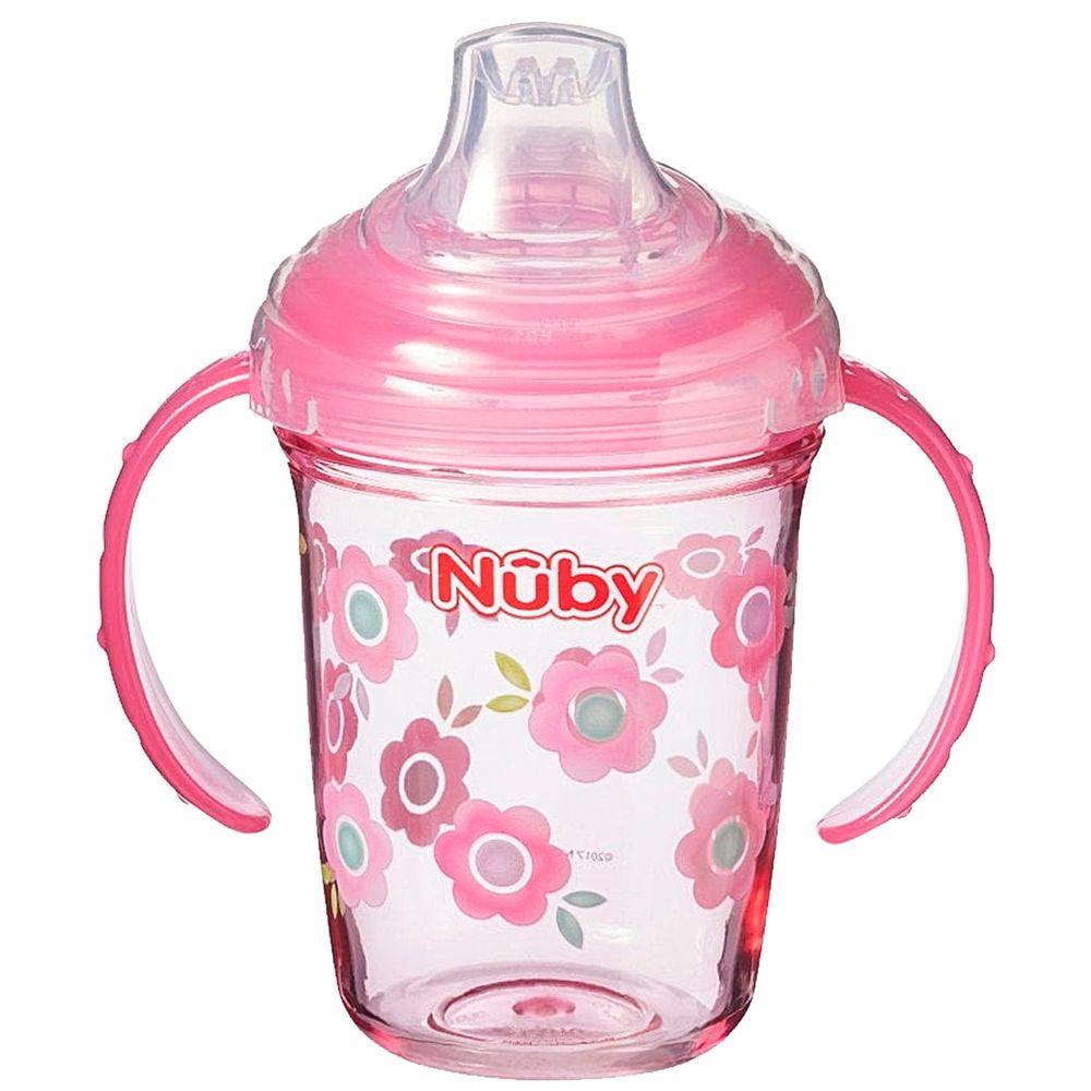 NB10567.086-A-Copo-com-Alca-Tritan-Grip-n-Sip-Flor-240ml-4m---Nuby