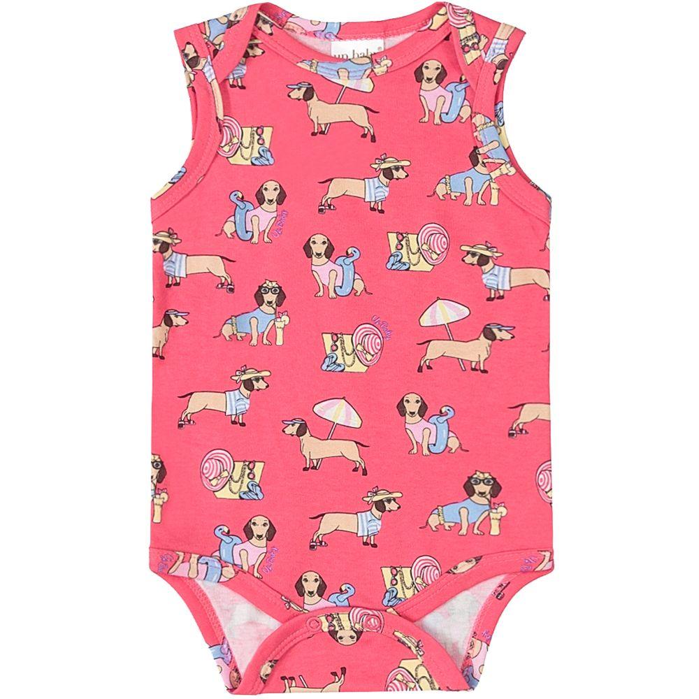 42937-AB1076-moda-bebe-menina-body-regata-suedine-cachorrinhos-pink-up-baby-no-bebefacil-loja-de-roupas-enxoval-e-acessorios-para-bebes