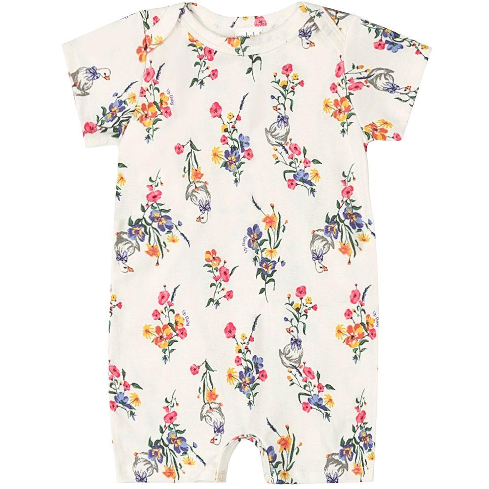 42941-FLO702-moda-bebe-menina-macacao-curto-suedine-flores-up-baby-no-bebefacil-loja-de-roupas-enxoval-e-acessorios-para-bebes