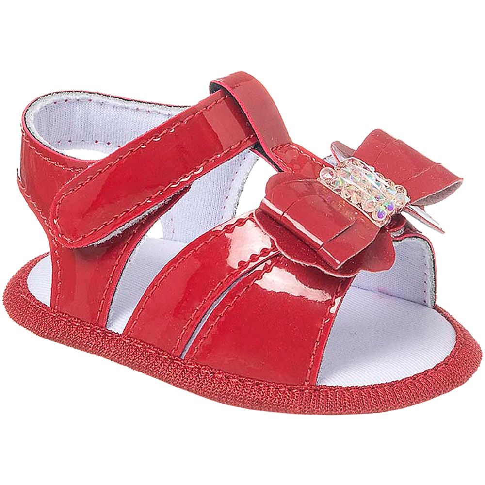 KB5311-4-A-Sandalia-para-bebe-em-verniz-Laco-Vermelho---Keto-Baby
