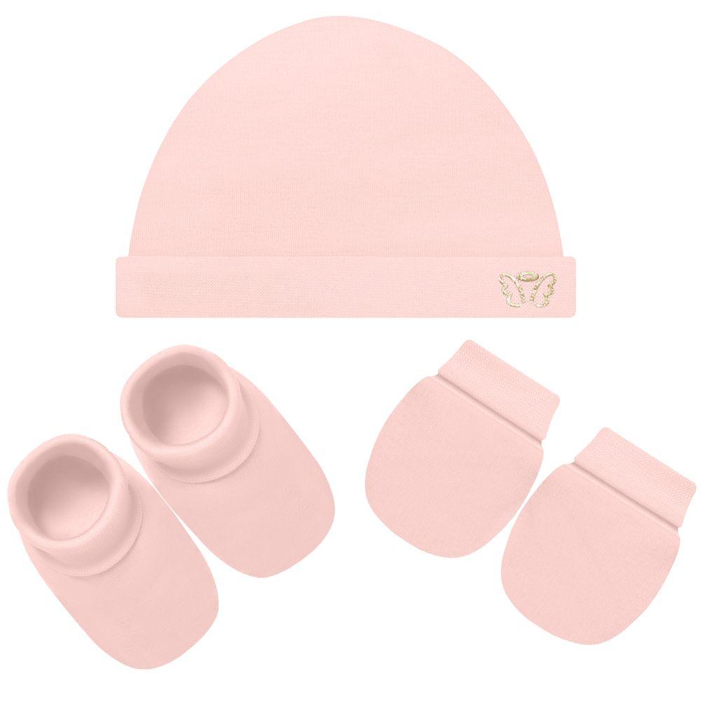 2041098-RS-A-moda-bebe-menina-acessorios-kit-touca-luva-e-sapatinho-suedine-rosa-anjos-baby-no-bebefacil-loja-de-roupas-enxoval-e-acessorios-para-bebes