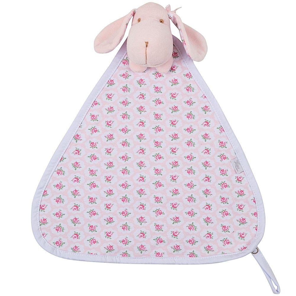 204910-T03-A-enxoval-e-maternidade-bebe-menina-naninha-em-plush-cachorrinha-floral-rosa-anjos-baby-no-bebefacil-loja-de-roupas-enxoval-e-acessorios-para-bebes