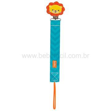 BUBA12054-B-Prendedor-de-Chupeta-Animal-Fun-Leaozinho-3m---Buba