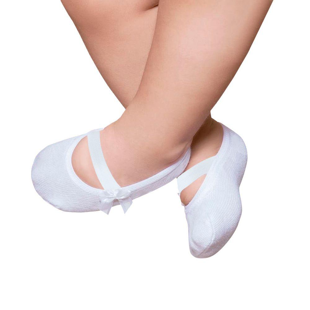 PK9039L-B_A-moda-bebe-menina-meia-sapatilha-laco-branco-puket-no-bebefacil-loja-de-roupas-enxoval-e-acessorios-para-bebes