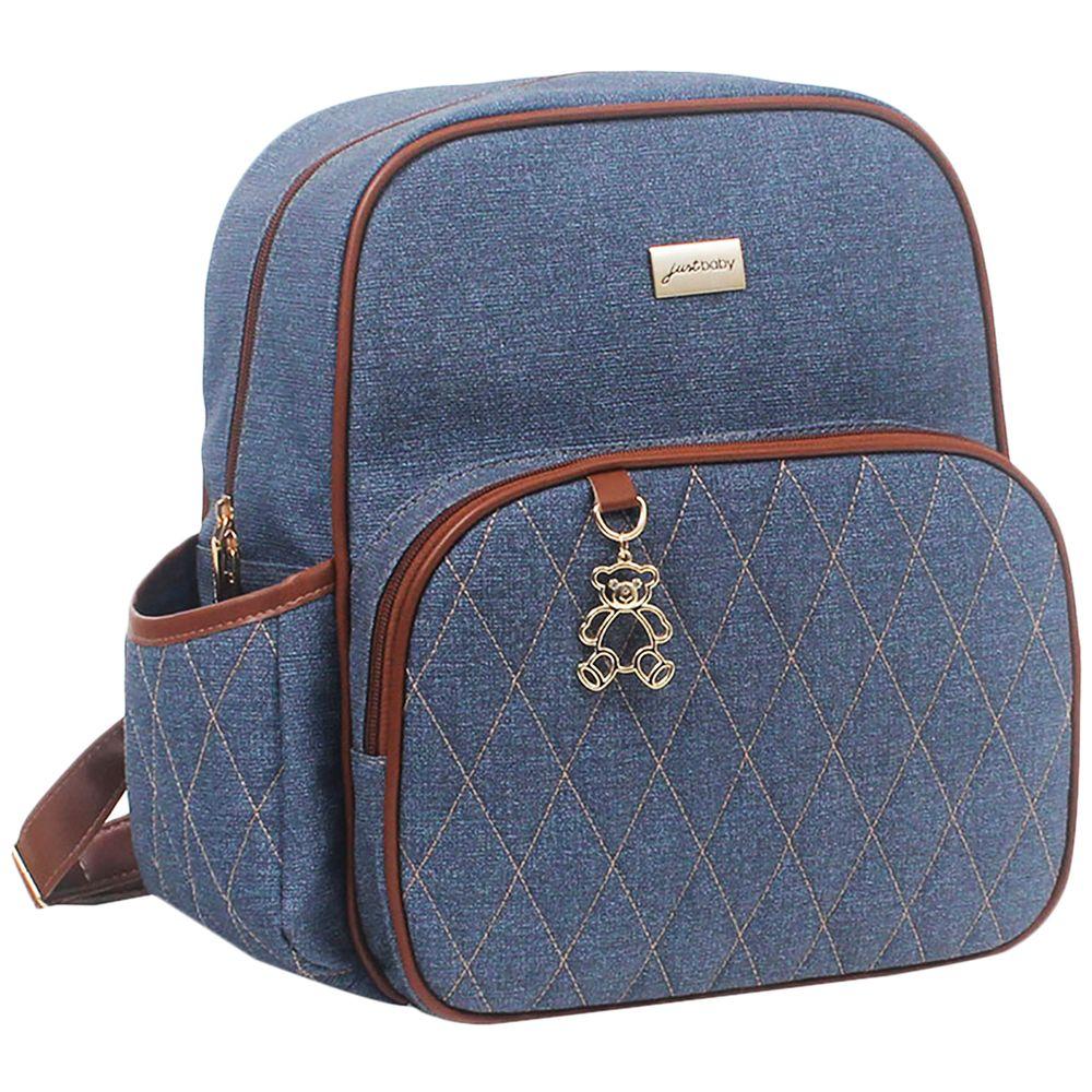 JBCHG065-1407-A-Mochila-Maternidade-para-bebe-Chicago-Jeans---Just-Baby