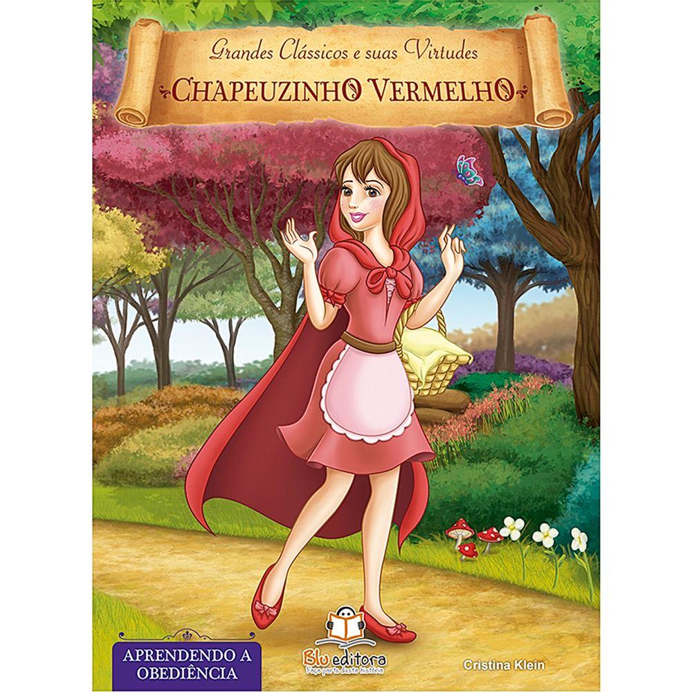 BLU535-A-Livro-Grandes-Classicos-e-Suas-Virtudes-Chapeuzinho-Vermelho---Blu-Editora