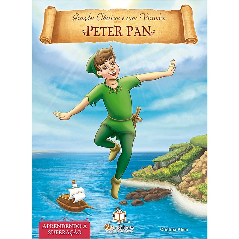 BLU539-A-Livro-Grandes-Classicos-e-Suas-Virtudes-Peter-Pan---Blu-Editora