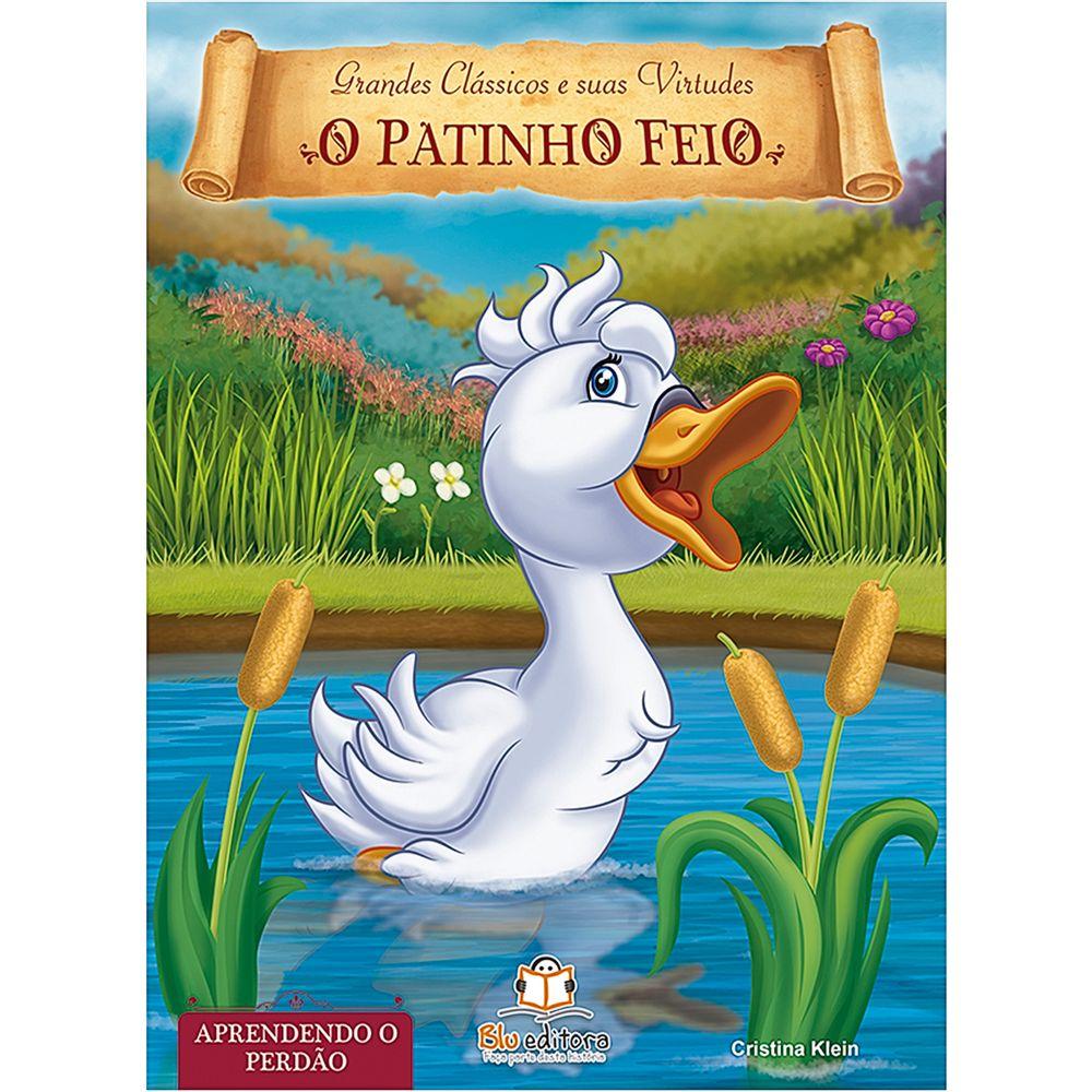 BLU540-A-Livro-Grandes-Classicos-e-Suas-Virtudes-O-Patinho-Feio---Blu-Editora