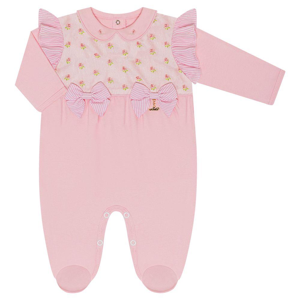 5511057046-moda-bebe-menina-macacao-longo-babadinhos-e-laco-florzinhas-roana-no-bebefacil
