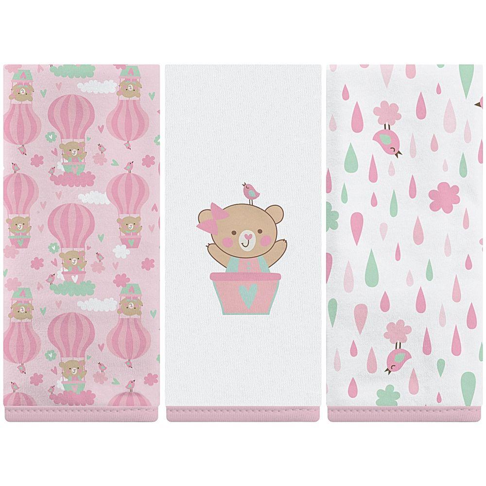 02043301010026-A-enxoval-e-maternidade-bebe-menina-kit-3-fraldinhas-boca-em-malha-baloes-rosa-incomfral-no-bebefacil-loja-de-roupas-enxoval-e-acessorios-para-bebes