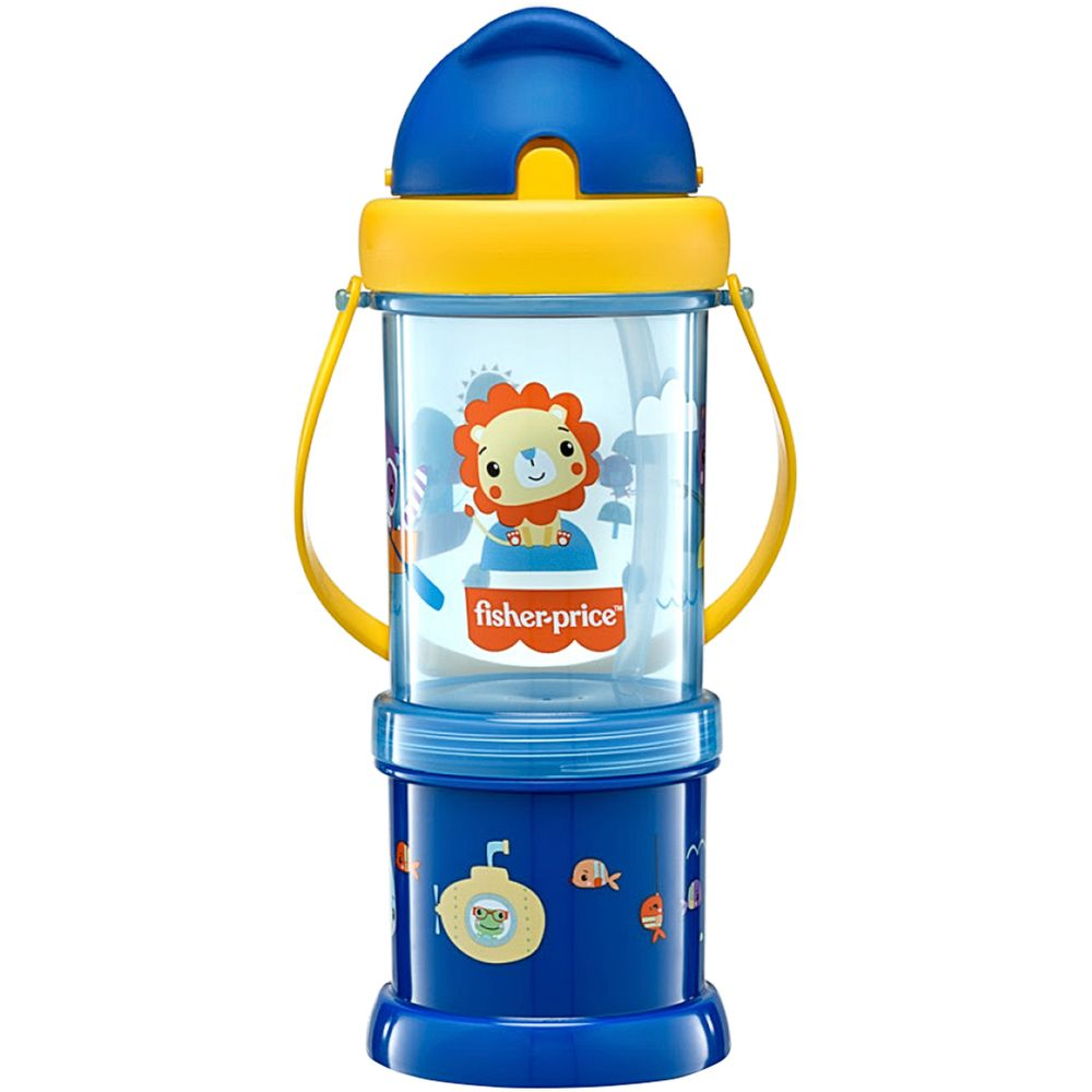 BB1012-A-Copo-com-Porta-Snack-Playful-Azul-Summer-Sky-12m---Fisher-Price