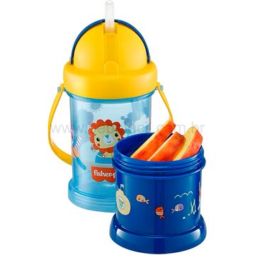 BB1012-B-Copo-com-Porta-Snack-Playful-Azul-Summer-Sky-12m---Fisher-Price