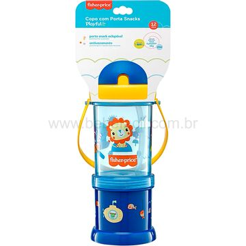 BB1012-C-Copo-com-Porta-Snack-Playful-Azul-Summer-Sky-12m---Fisher-Price