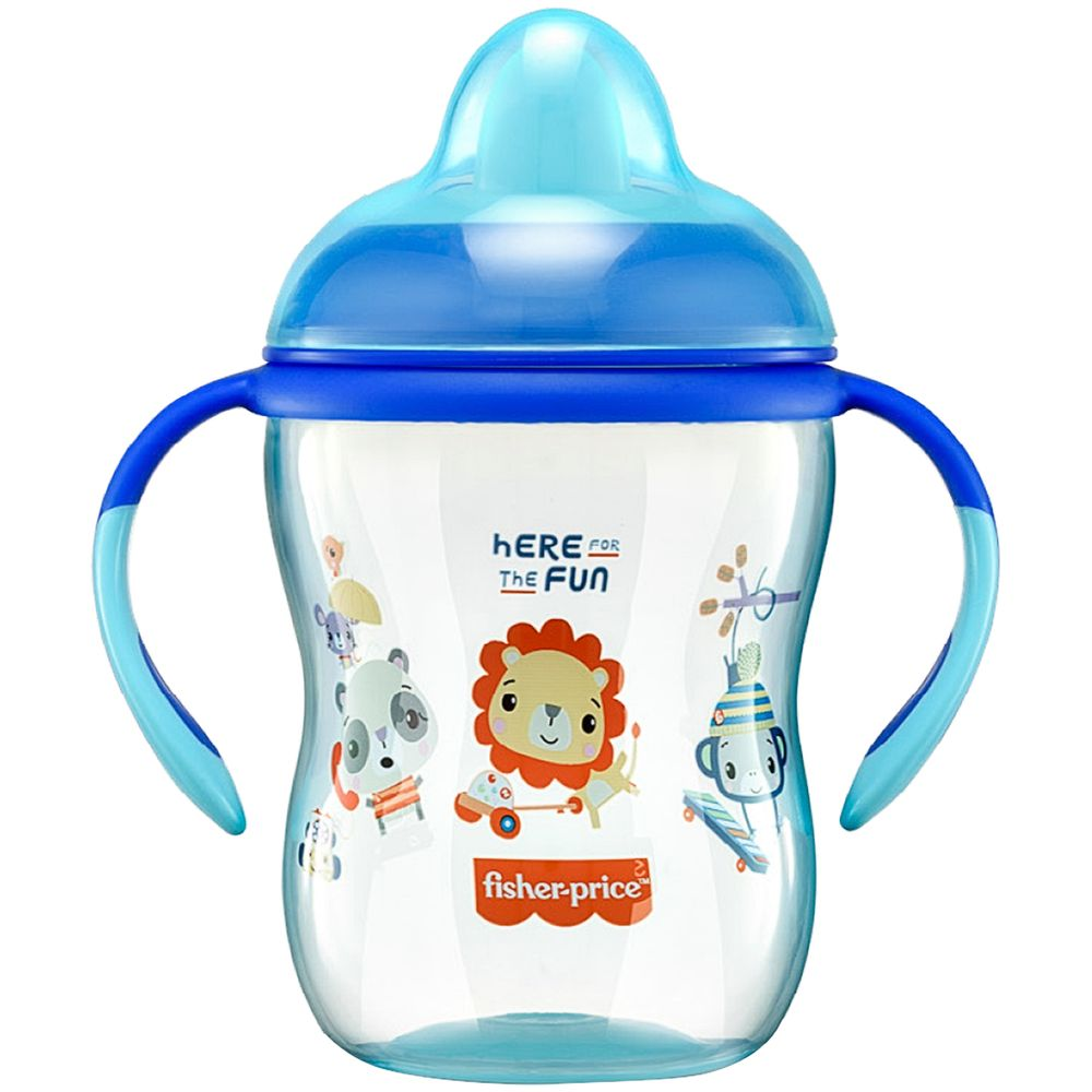 BB1014-A-Copo-de-Treinamento-First-Moments-270ml-Azul-Twinkle-6m---Fisher-Price
