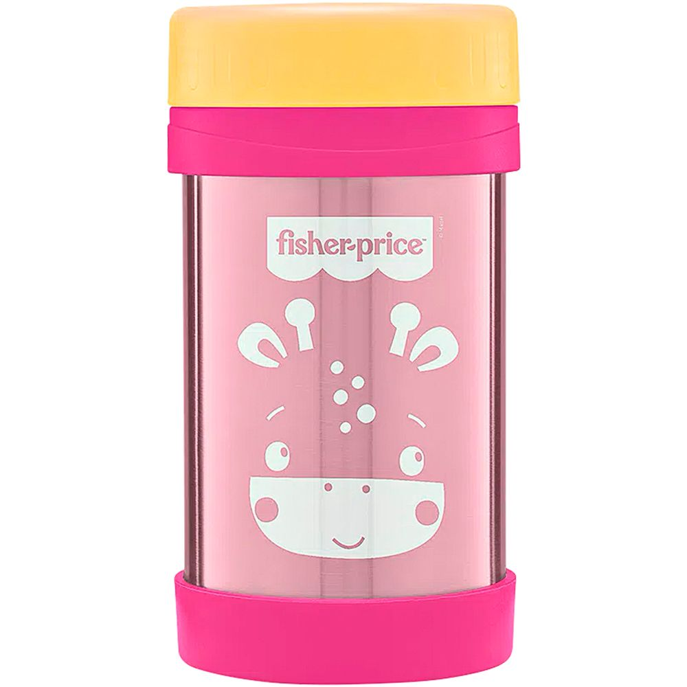 BB1091-A-Pote-Termico-Aco-Inox-Hot-Cold-450ml-Rosa-Strawberry-6m---Fisher-Price