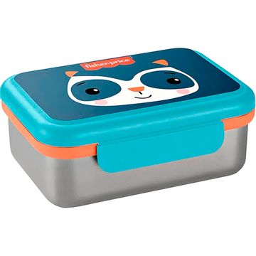 BB1092-A-Bento-Box-Aco-Inox-Hot-Cold-800ml-Azul-Fresh-6m---Fisher-Price