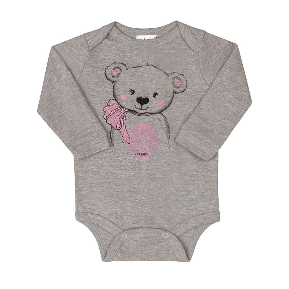 43120-0037-A-moda-bebe-menina-body-longo-em-suedine-ursinha-mescla-up-baby-no-bebefacil-loja-de-roupas-enxoval-e-acessorios-para-bebes