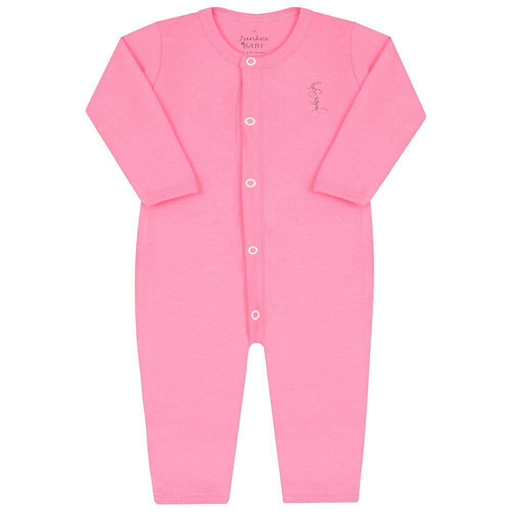 JUN20115-PK-A-moda-bebe-menina-macacao-longo-em-suedine-pink-junkes-baby-no-bebefacil-loja-de-roupas-enxoval-e-acessorios-para-bebes