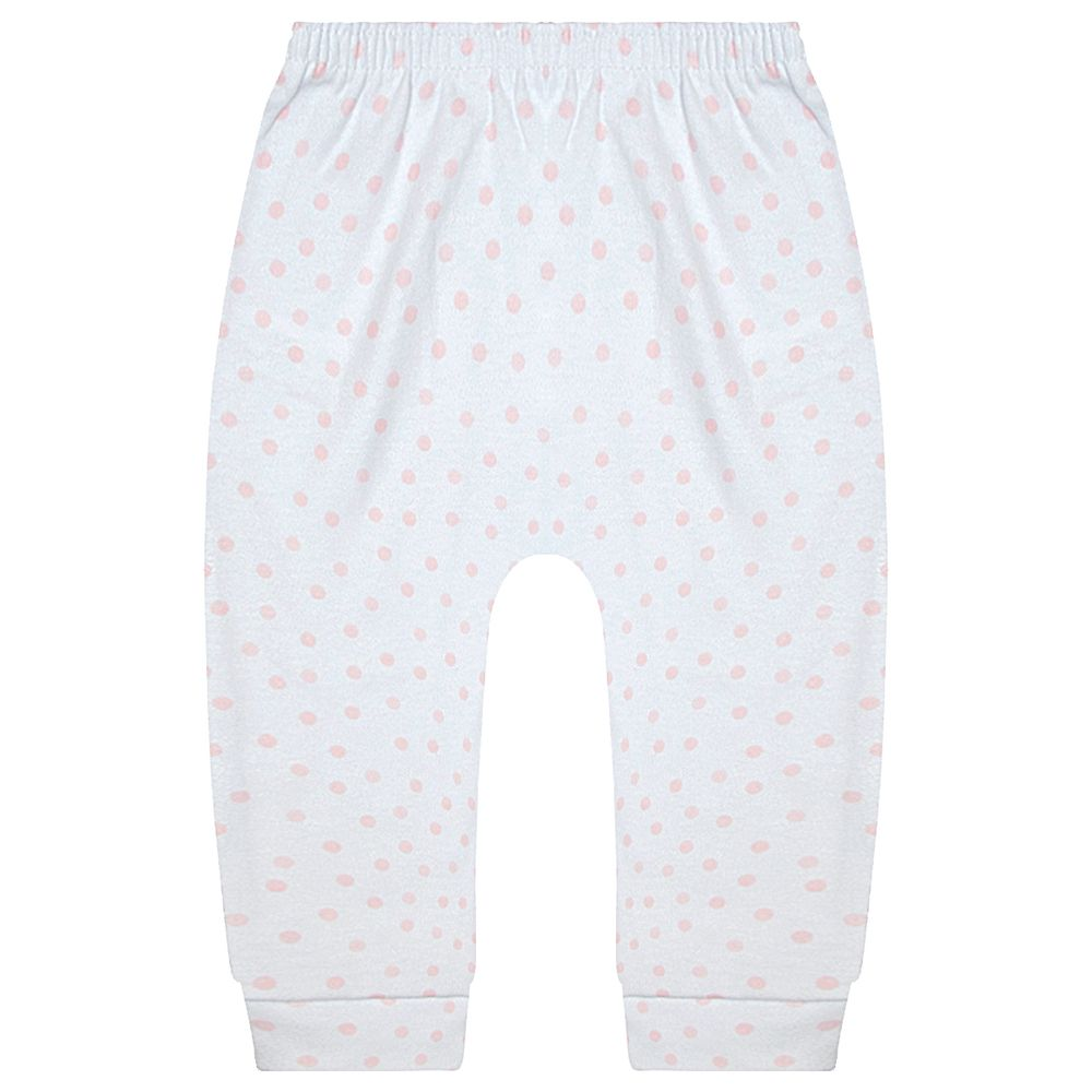 JUN30109-P-A-moda-bebe-menina-calca-mijao-saruel-em-suedine-poa-junkes-baby-no-bebefacil-loja-de-roupas-enxoval-e-acessorios-para-bebes