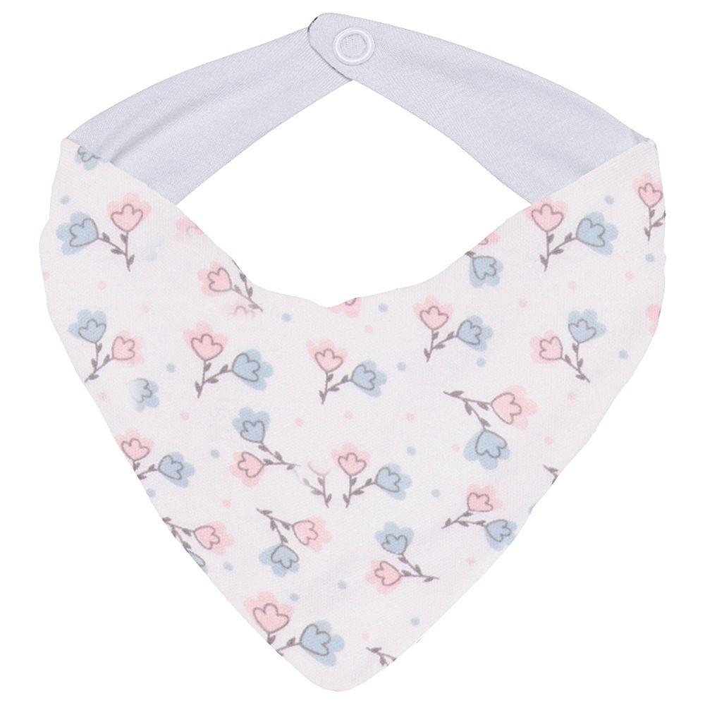JUN30110-FL-A-enxoval-e-maternidade-bebe-menina-babador-bandana-floral-junkes-baby-no-bebefacil-loja-de-roupas-enxoval-e-acessorios-para-bebes