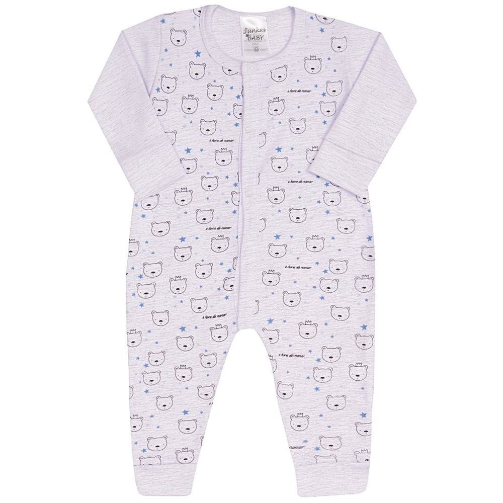 JUN61120-A-moda-bebe-menino-macacao-longo-suedine-mescla-ursinho-junkes-baby-no-bebefacil-loja-de-roupas-enxoval-e-acessorios-para-bebes