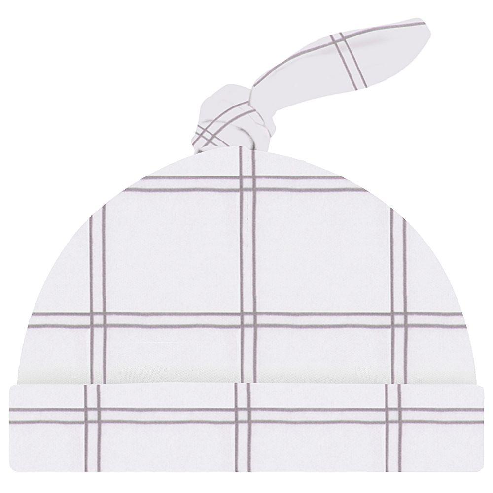 JUN41040-X-A-moda-bebe-menina-menino-acessorios-touca-nozinho-xadrez-up-baby-no-bebefacil-loja-de-roupas-enxoval-e-acessorios-para-bebe