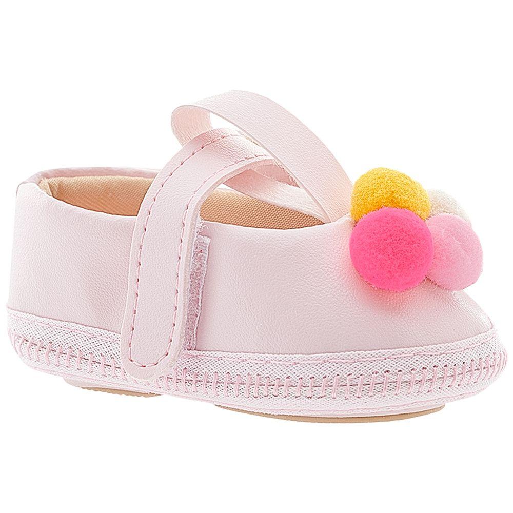 BBG-39015LP-A-Sandalia-para-bebe-Pompom-Rosa---Baby-Gut