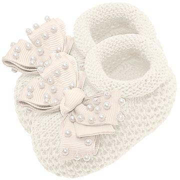 01429009031-C-moda-bebe-menina-sapatinho-tricot-laco-e-perolas-marfim-roana-no-bebefacil-loja-de-roupas-enxoval-e-acessorios-para-bebes