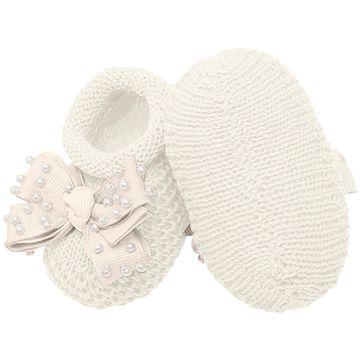 01429009031-D-moda-bebe-menina-sapatinho-tricot-laco-e-perolas-marfim-roana-no-bebefacil-loja-de-roupas-enxoval-e-acessorios-para-bebes