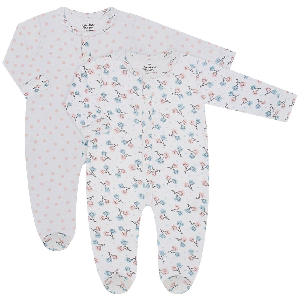 JUN30131-F-A-moda-bebe-menina-kit-2-macacaoes-longo-em-suedine-floral-junkes-baby