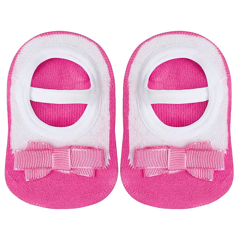 LU02011-064.1130-A-moda-bebe-menina-meia-sapatilha-laco-pink-lupo-no-bebefacil-loja-de-roupas-enxoval-e-acessorios-para-bebes
