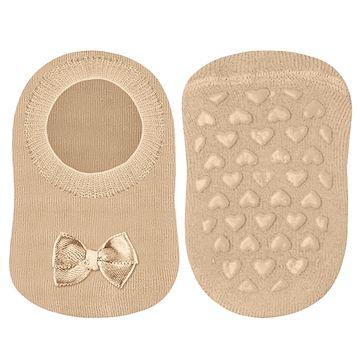 LU02007-002.6070-B-moda-bebe-menina-meia-sapatilha-bege-lupo-no-bebefacil-loja-de-roupas-enxoval-e-acessorios-para-bebes