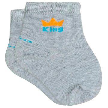 LU02000-989.0925-C-moda-bebe-menino-tripack-kit-3-meias-soquete-c-punho-soft-branca-mescla-leao-lupo-no-bebefacil-loja-de-roupas-enxoval-e-acessorios-para-bebes